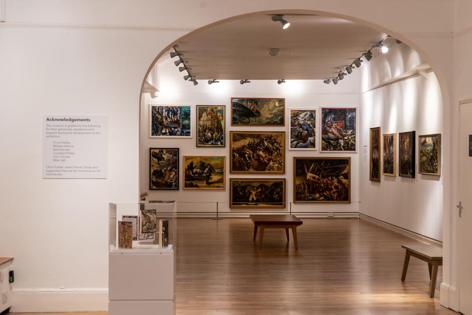 Northampton Museum interior
