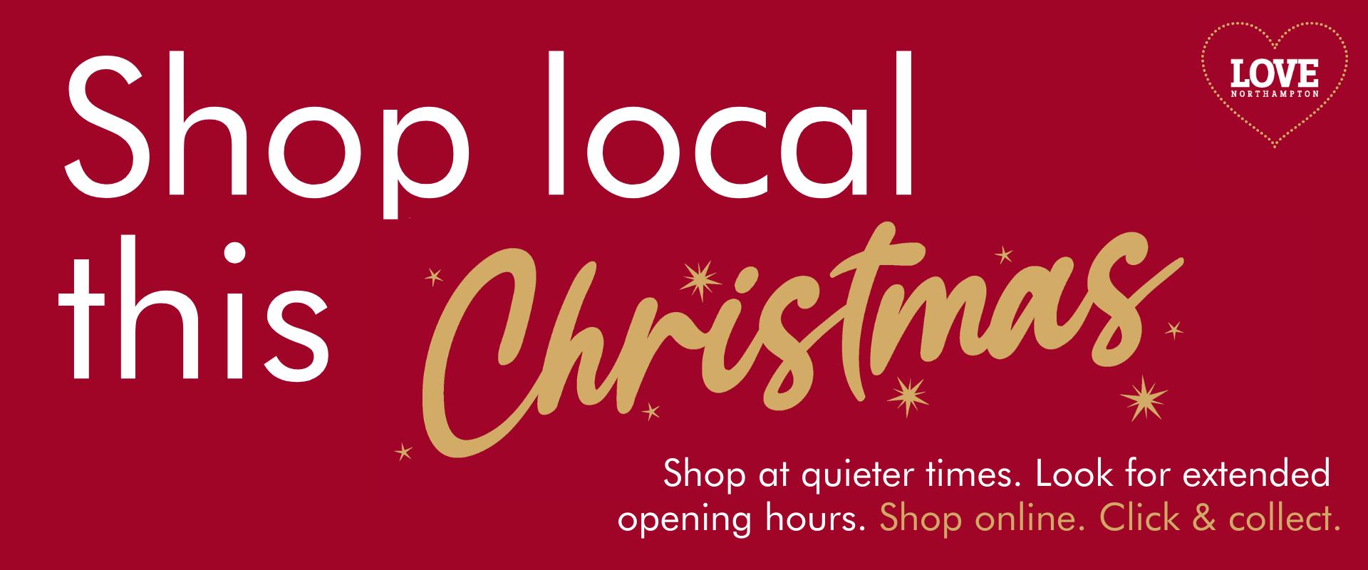 Shop local - Love northampton banner