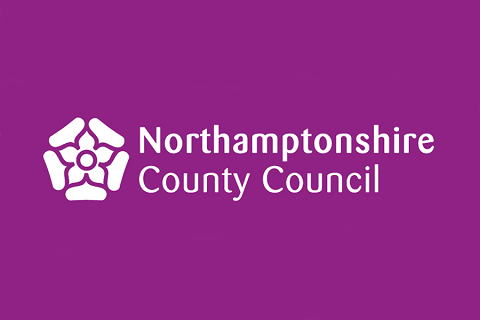 This is an image which is also a link to  Northamptonshire County Council