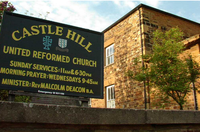 This is an image which is also a link to  Castle Hill United Reform Church