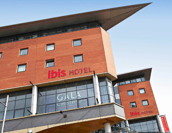 This is an image which is also a link to  IBIS Northampton