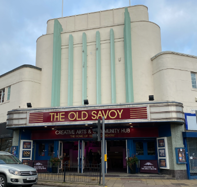 This is an image which is also a link to   The Old Savoy